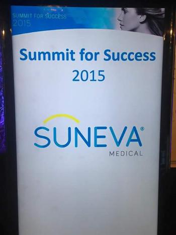 Suneva Summit Banner 2015 Chicago